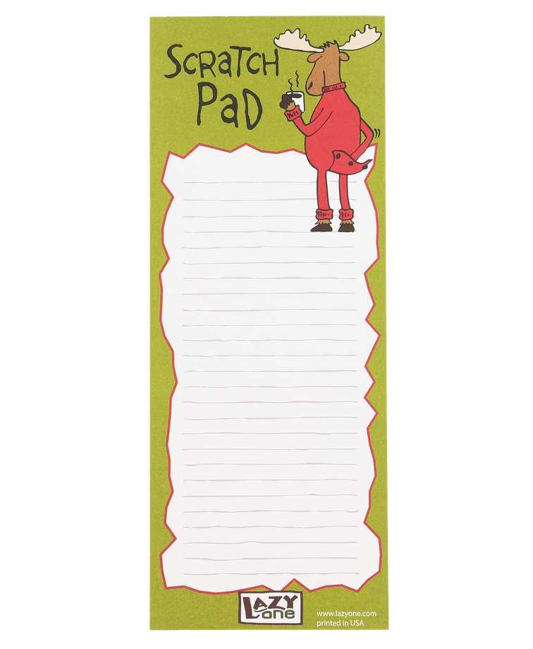 Moose Scratch Pad Notepad