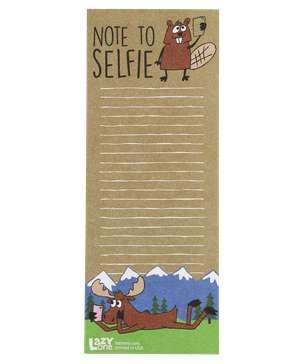Note to Selfie Notepad