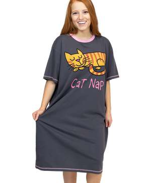 Cat Nap Women's Nightshirt