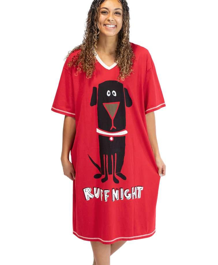 Ruff Night Dog Nightshirt