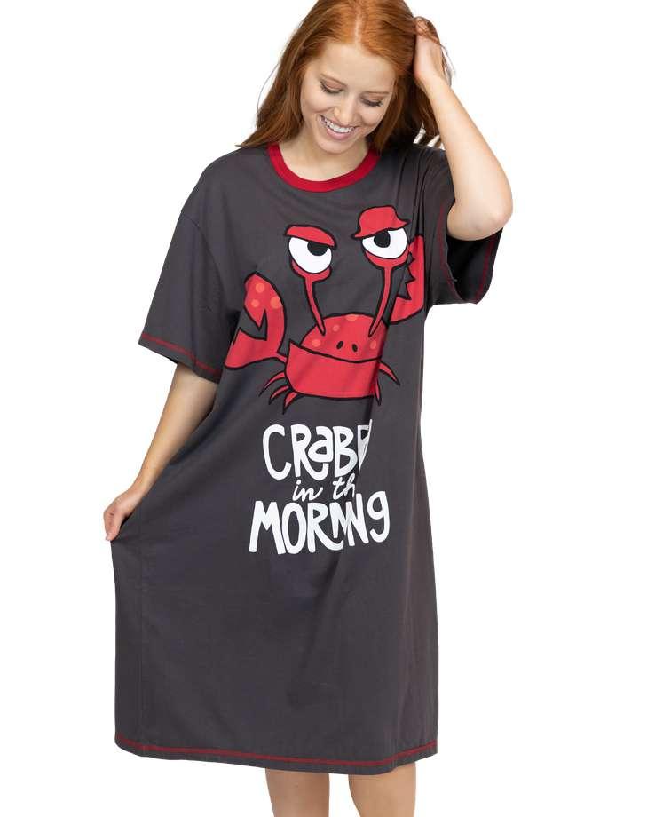 Crabby Morning Nightshirt