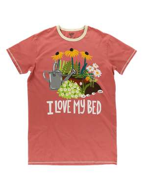I Love My Bed Plant Nightshirt