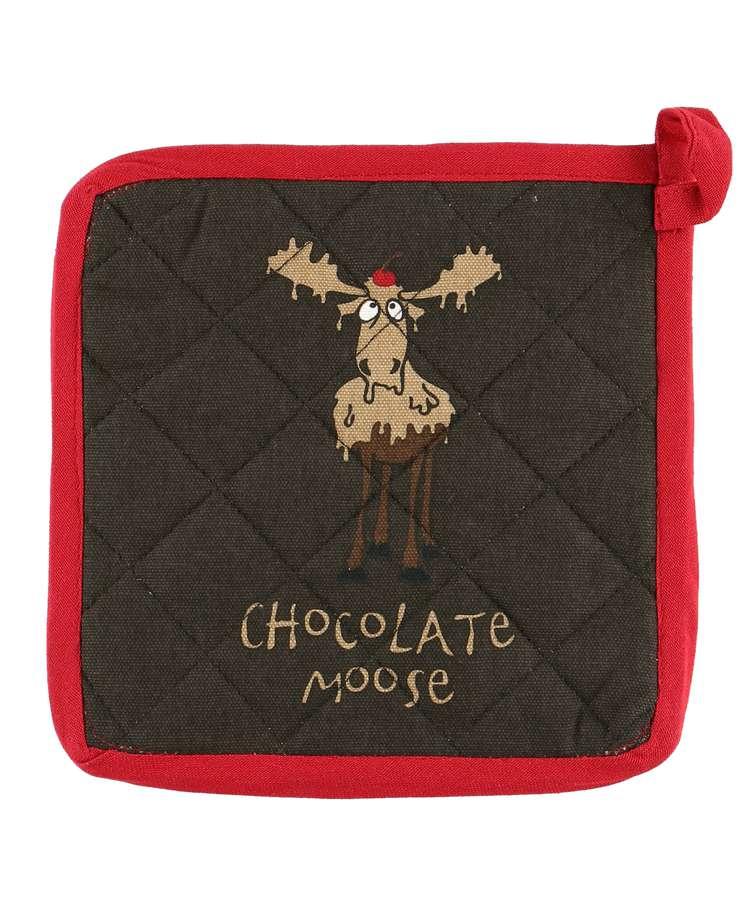 Chocolate Moose Pot Holder