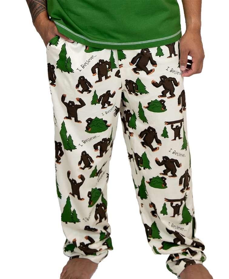 I Believe...Bigfoot Men's PJ Pant