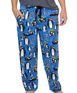 Out Cold Penguin Men's PJ Pant