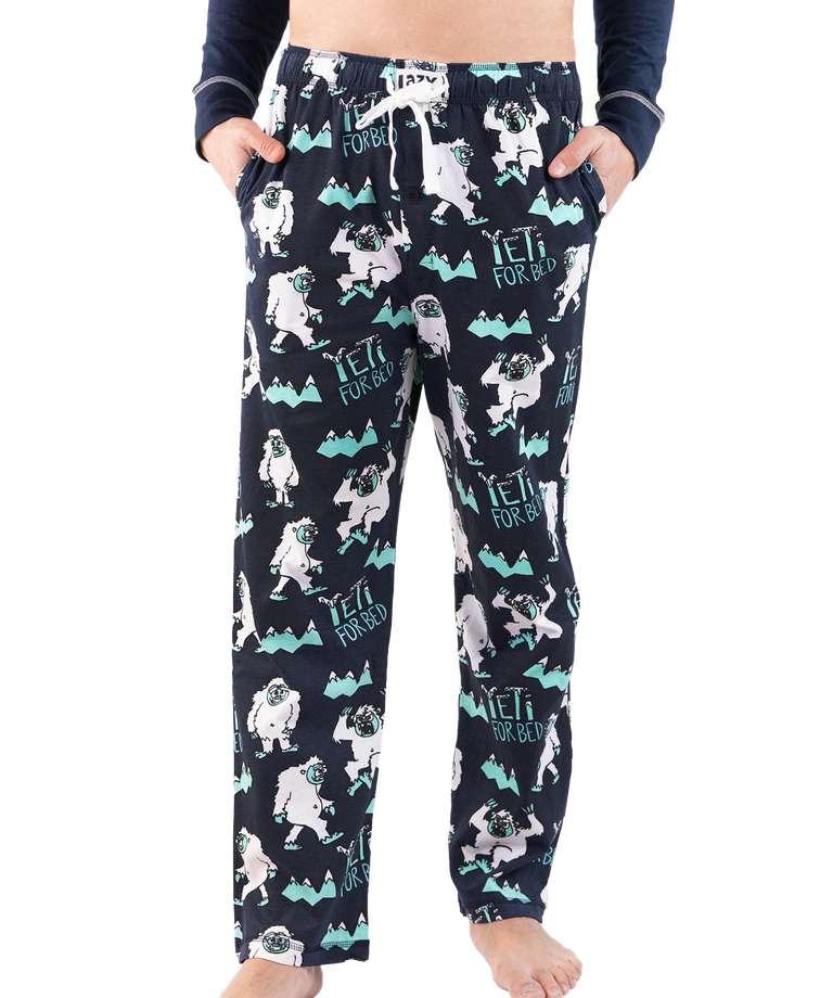 Yeti For Bed Men's PJ Pants