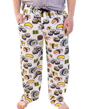 Rolled Out Of Bed Sushi Men's PJ Pant