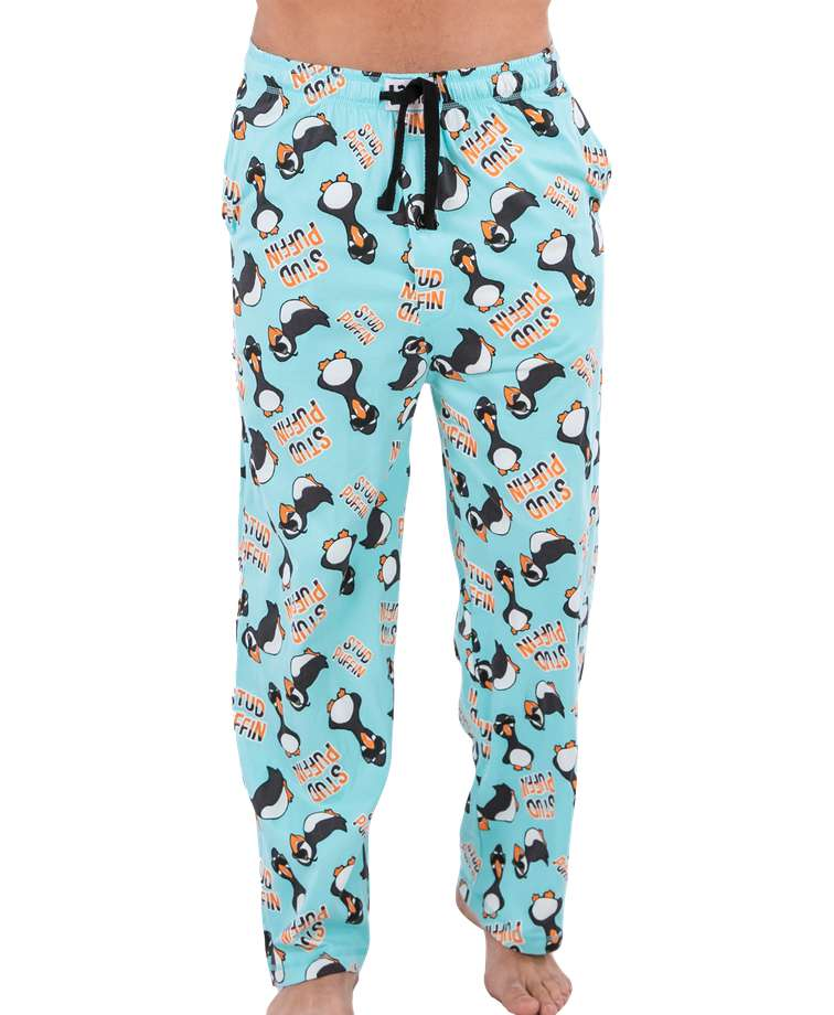 Stud Puffin Men's PJ Pants