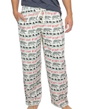 Beary Cool Men's PJ Pant
