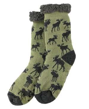 Mountain Made Moose Plush Sock