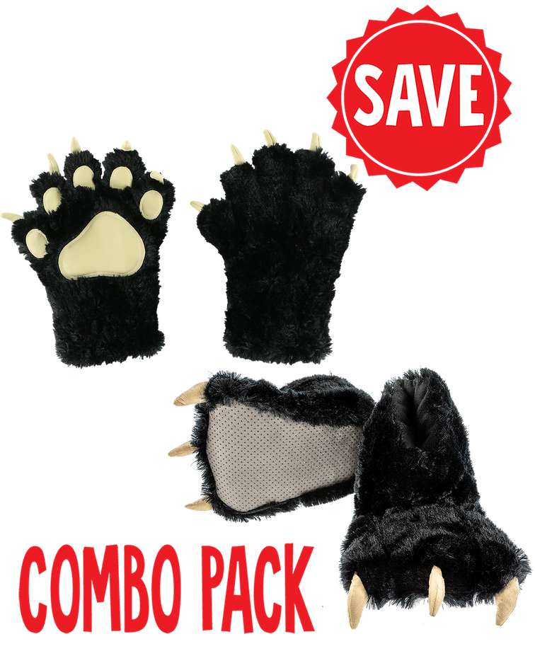 Black Bear Kid and Adult Combo Pack