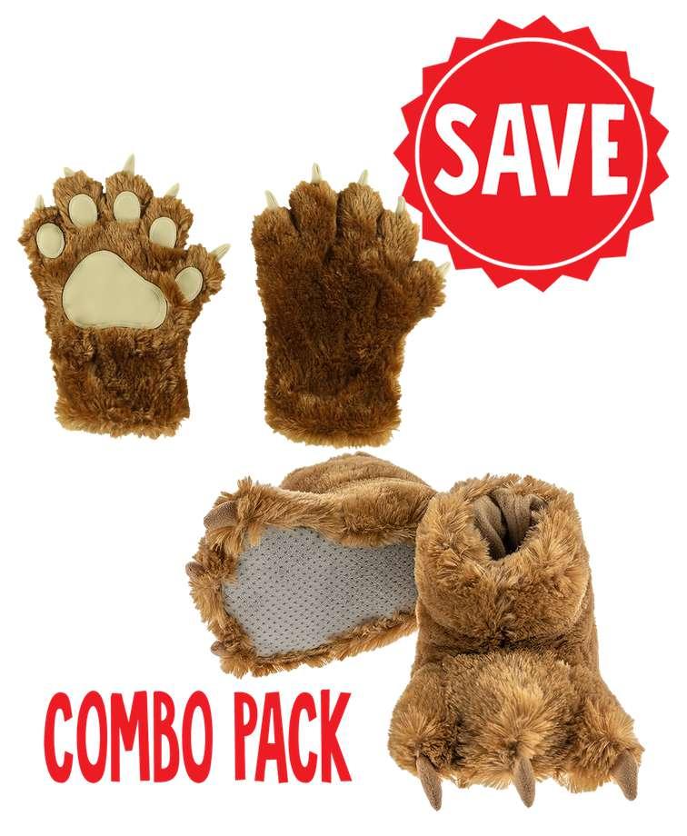Brown Bear Paw Set