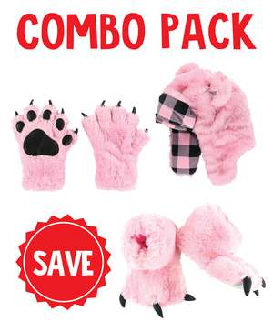 Pink Bear Wild Thing Kid Combo Pack