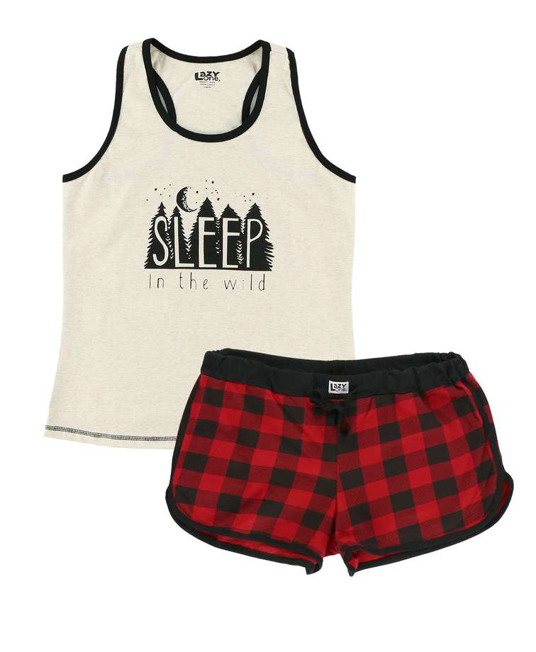 Sleep Wild Women's Tank & Short Set