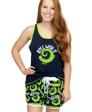 Roll With It Women's Alligator Tank & Short Set