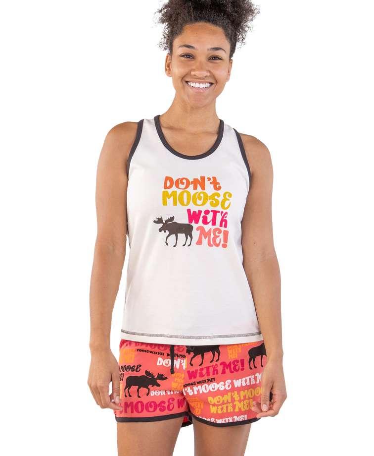 Don't Moose With Me Women's Tank & Short Set