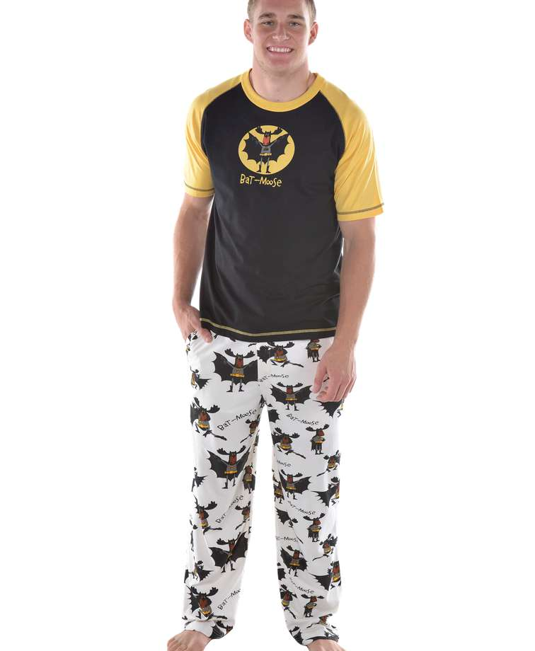 Bat Moose Men's PJ Set