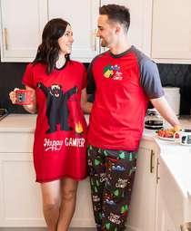 Happy Camper Couples Pajamas