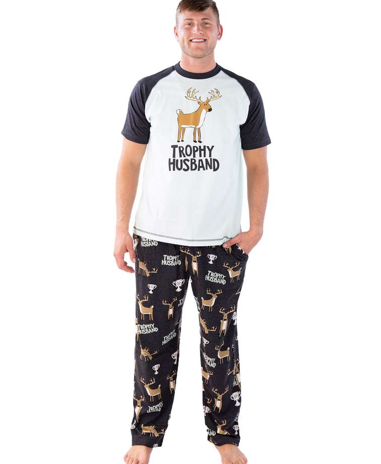 Trophy Husband Men's Buck PJ Set