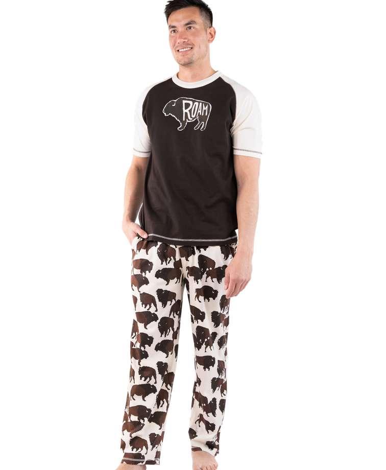 Roam Men's Buffalo PJ Set