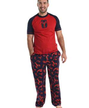 Lobster Men's PJ Set