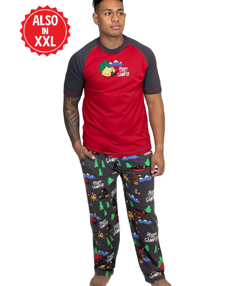 Happy Camper Men's PJ Set
