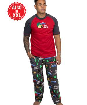 Happy Camper Men's PJ Set