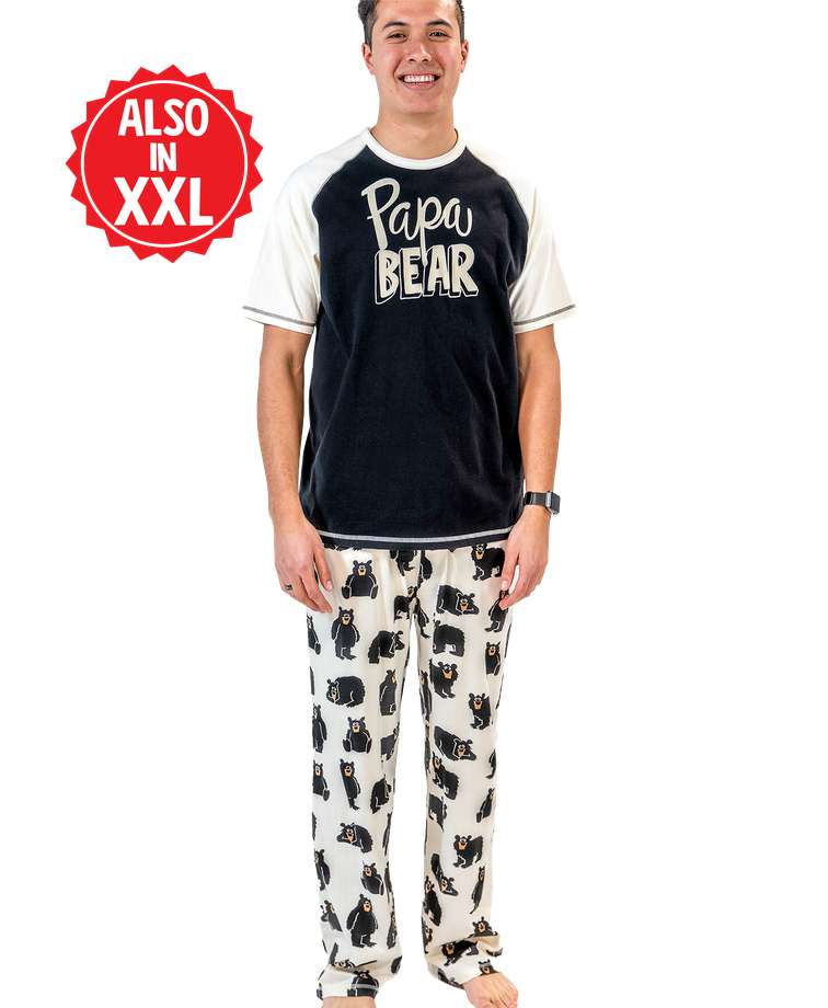 Papa Bear Men's PJ Set