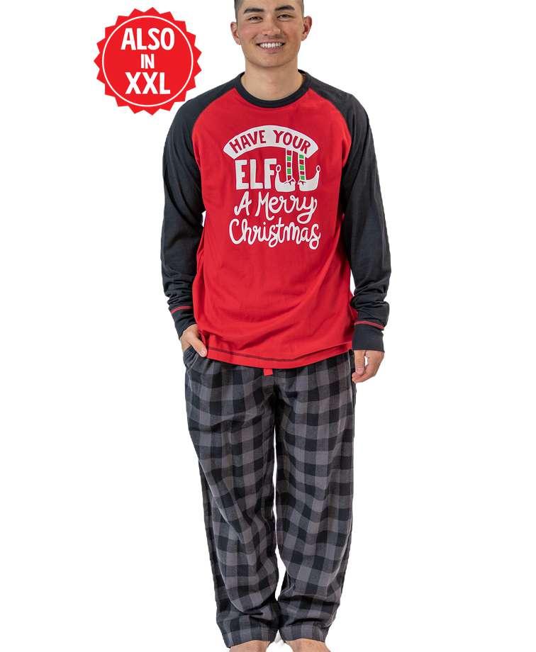 Have Your Elf A Merry Christmas Men's PJ Set