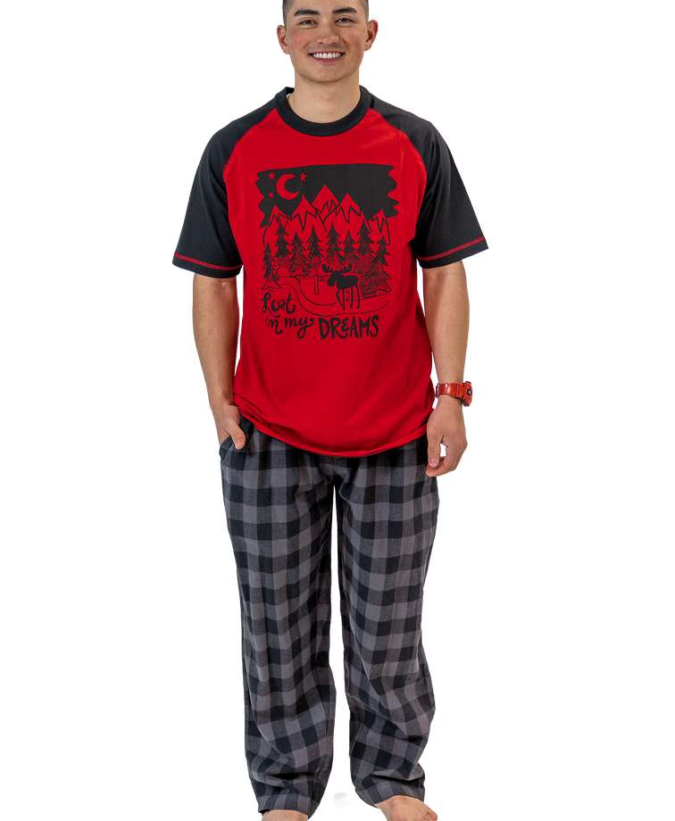 Lost in My Dreams Men's Pajama Set