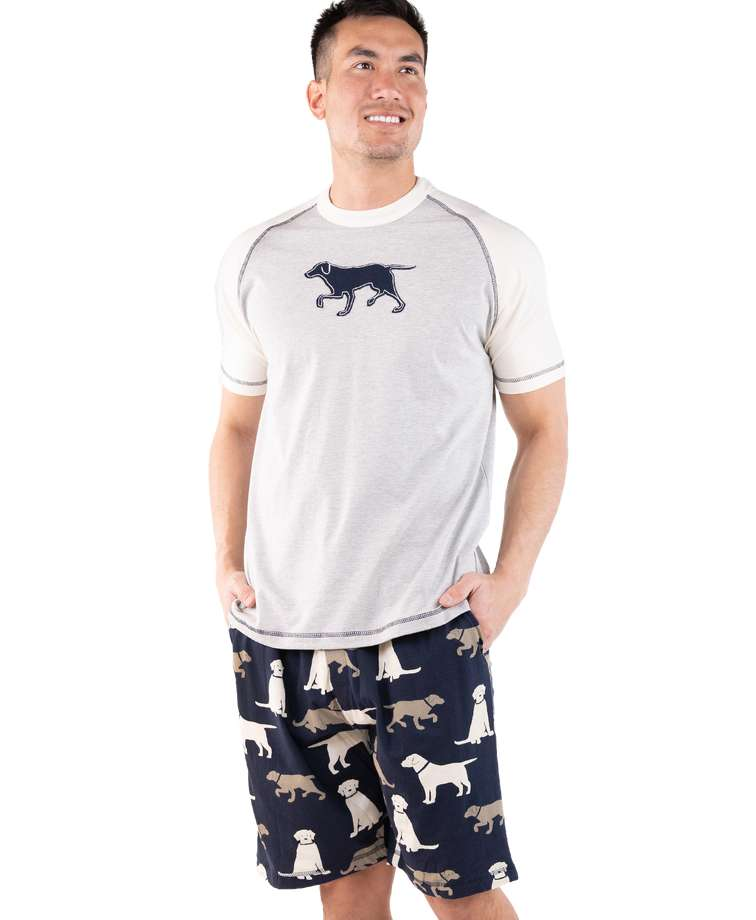 Labs Men's Pajama Short Set