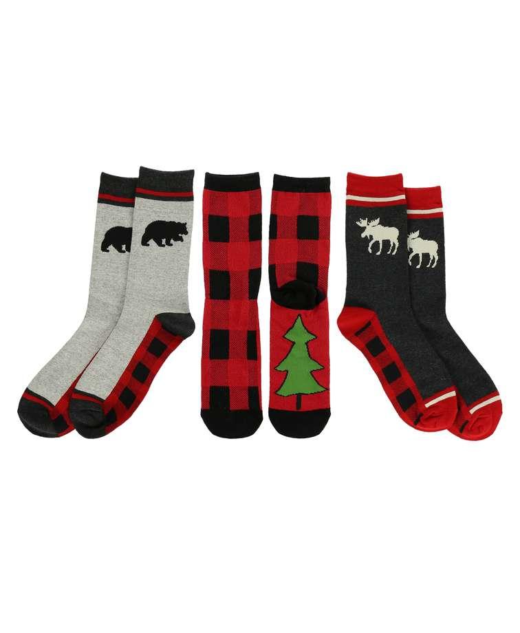 Plaid Sock 3 Pack