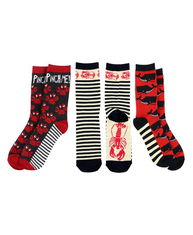 Ocean Sock 3 Pack