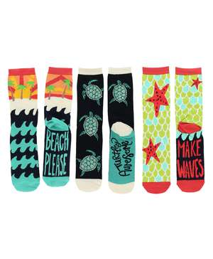 Seaside Sock 3 Pack