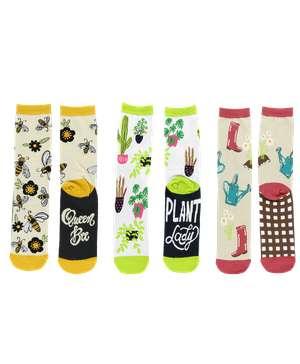 Flower Sock 3 Pack