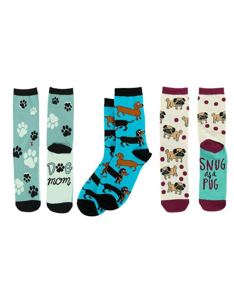 Dog Lover Sock 3 Pack