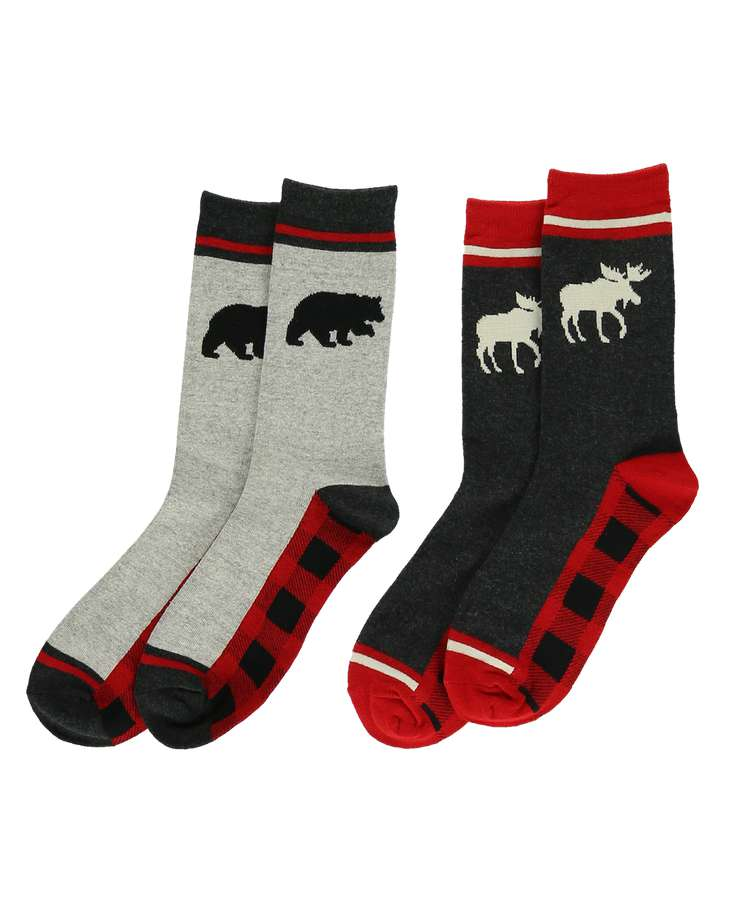 Plaid Sock 2 Pack
