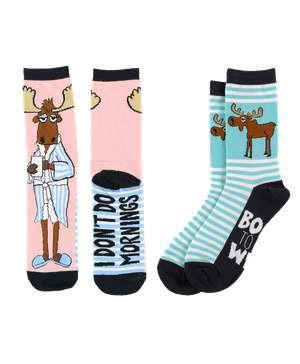 Wild Moose Sock 2 Pack