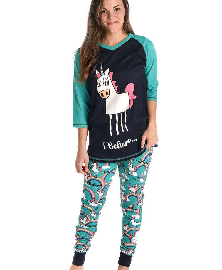 I Believe Women's Unicorn Legging Set