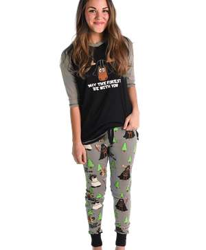 May The Forest Be With You Women's Moose Legging Set