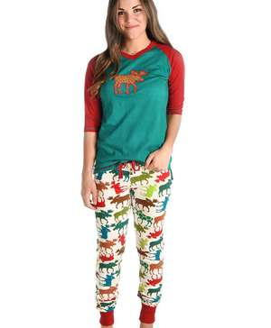Pattern Moose Women's Legging Set