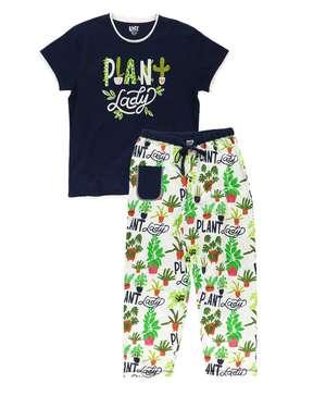 Plant Lady Women's Regular Fit PJ Set