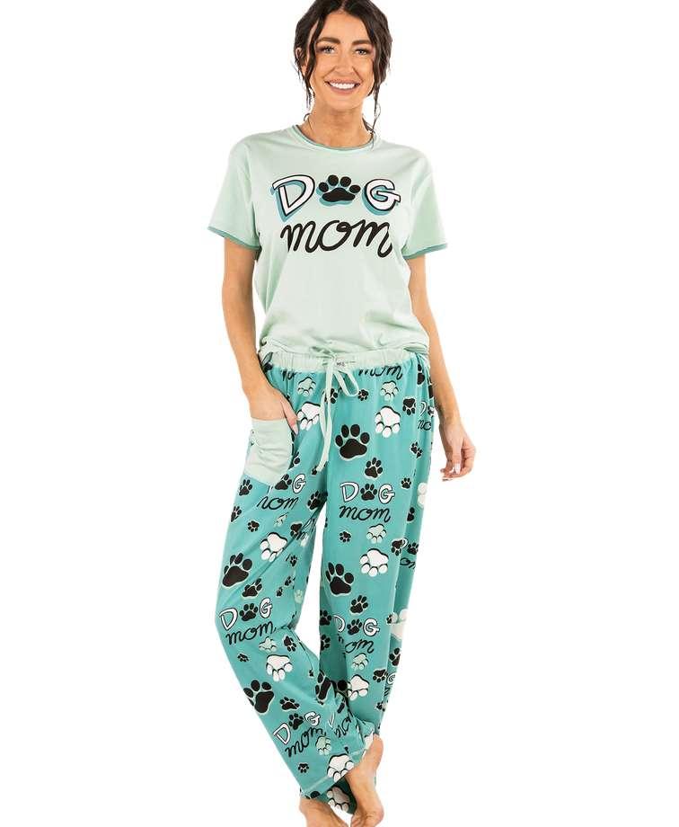 Dog Mom Women's Regular Fit PJ Set