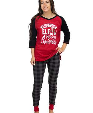 Have Your Elf A Merry Christmas Women's Legging Set