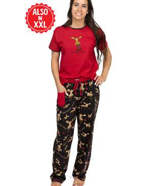 Chocolate Moose Women's Regular Fit Set