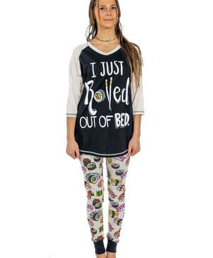 I Just Rolled Out of Bed Women's Sushi Legging Set
