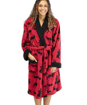 Classic Moose Women's Bathrobe