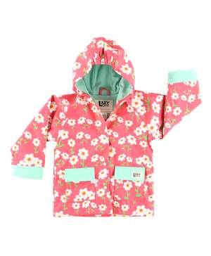 Rise And Shine Kid's Rain Coat