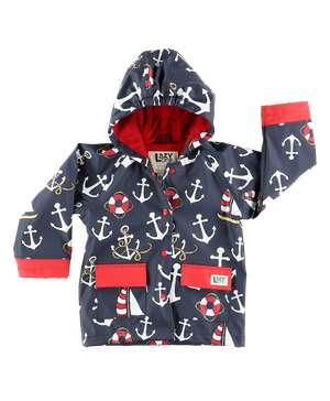 Nautical Kid's Rain Coat
