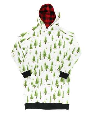 Evergreen Plaid Sleep Hoodie
